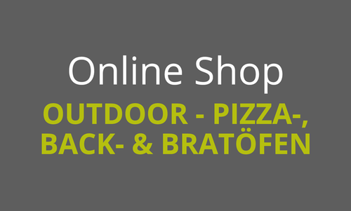 Outdoor - Pizza-, Back- & Bratöfen